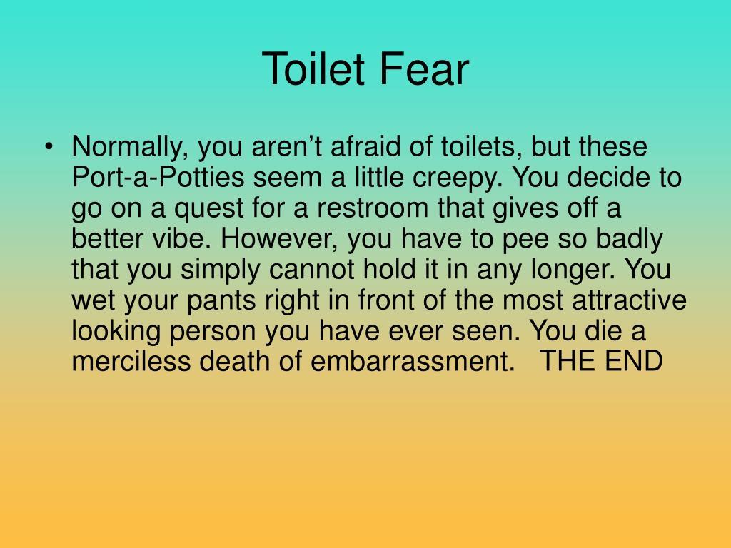 Toilet Fear