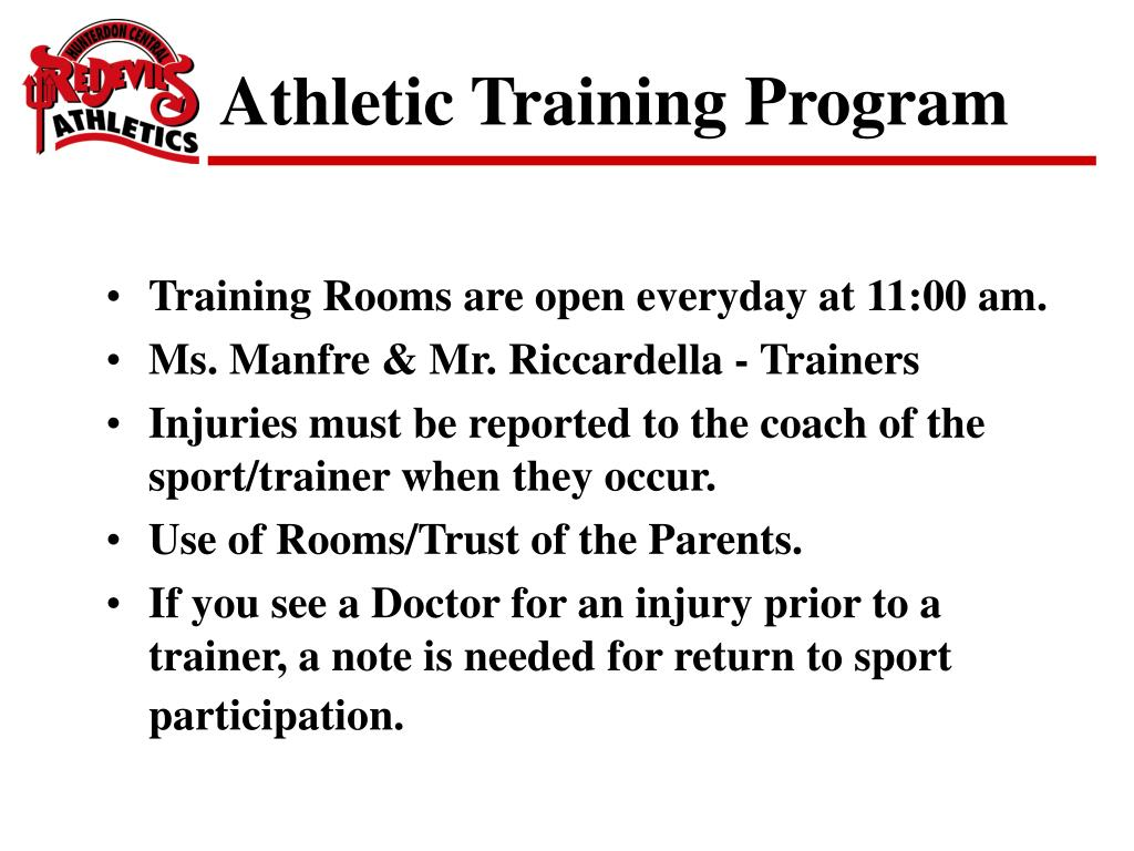 Athletic Training Program