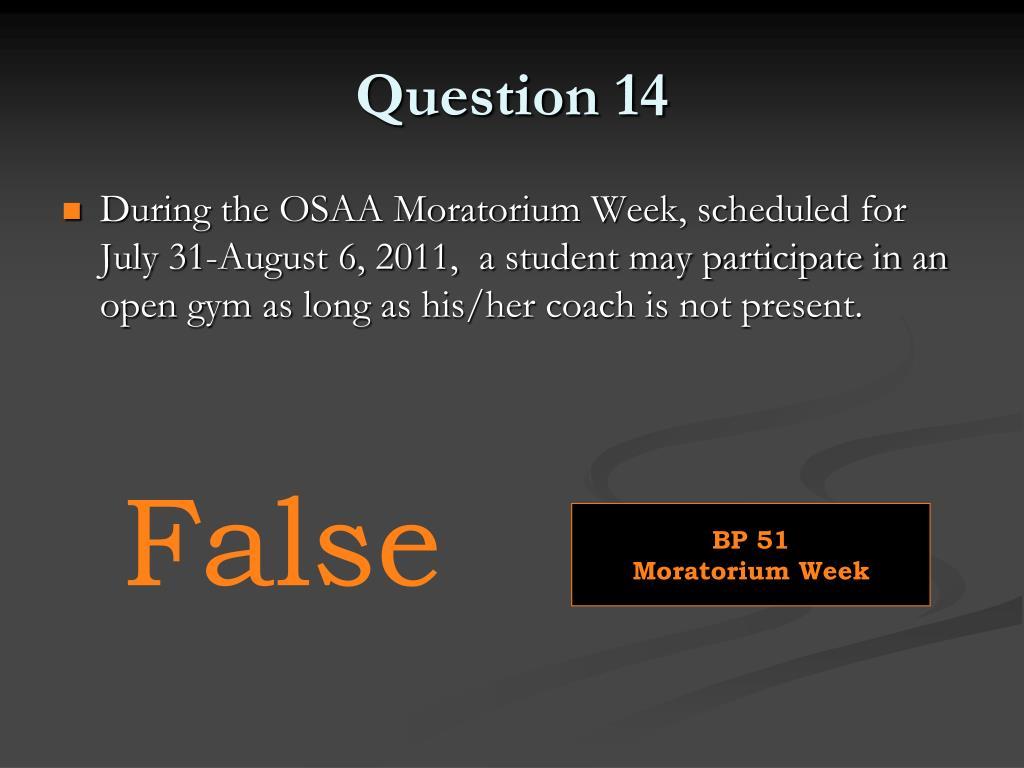 Question 14