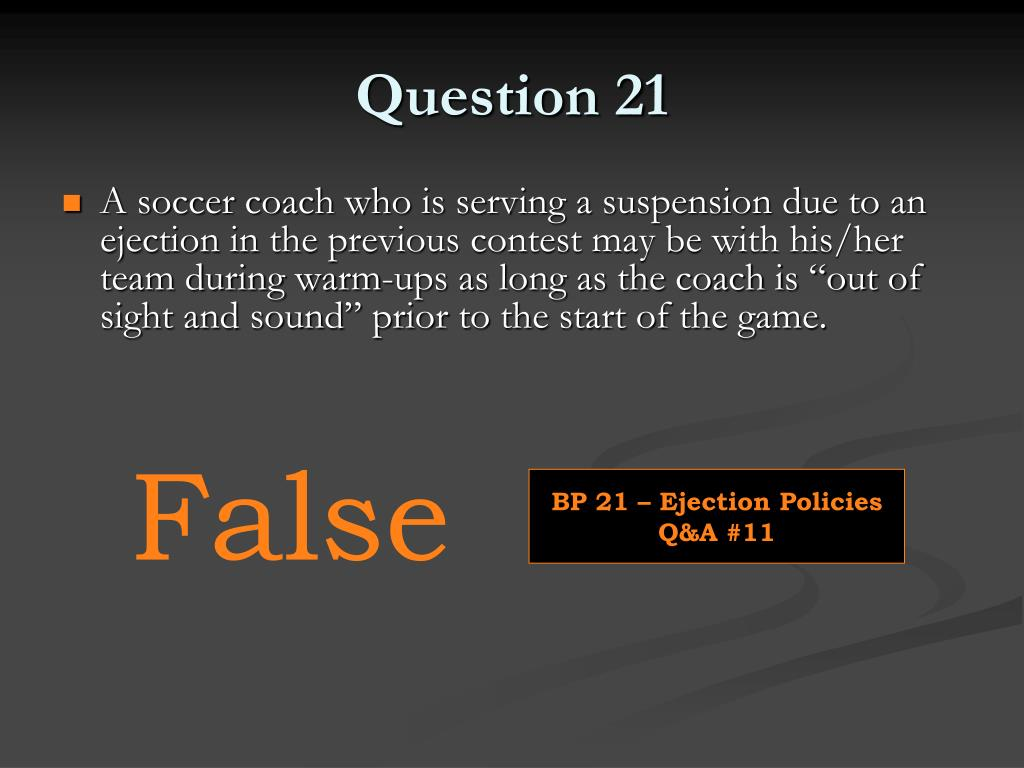 Question 21