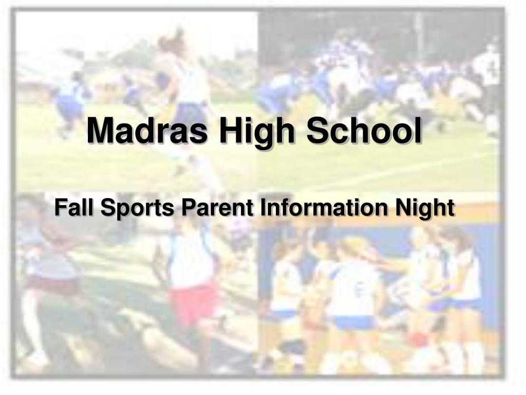 Madras High School