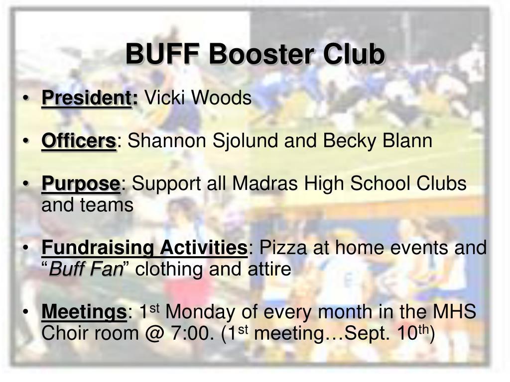 BUFF Booster Club