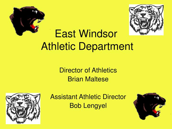 East windsor athletic department