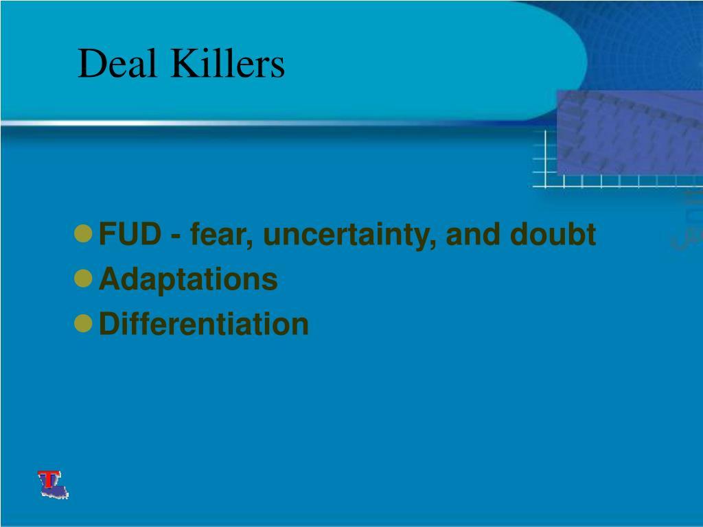 Deal Killers