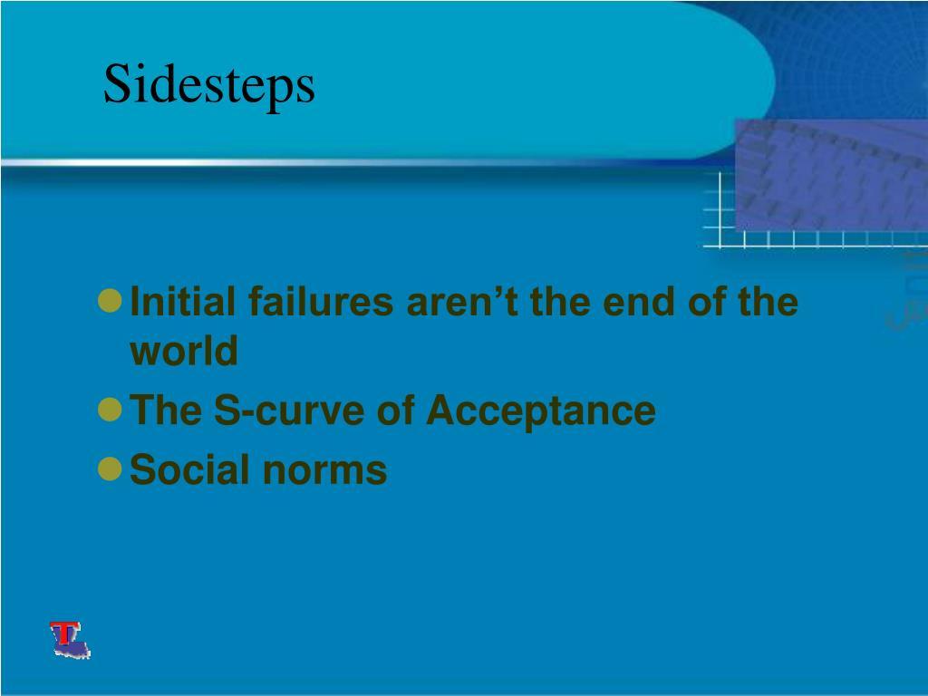 Sidesteps