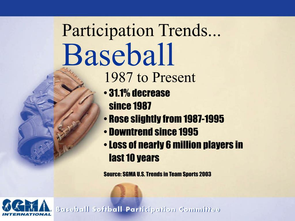 Participation Trends...