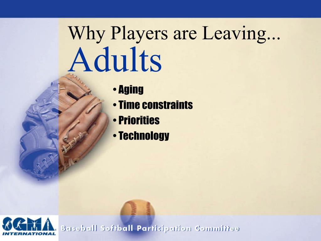Why Players are Leaving...