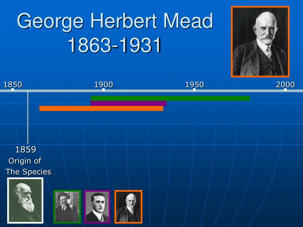 George Herbert Mead  1863-1931