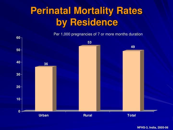 Perinatal Mortality Rates