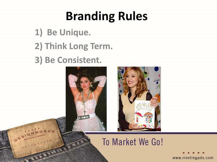 Branding Rules