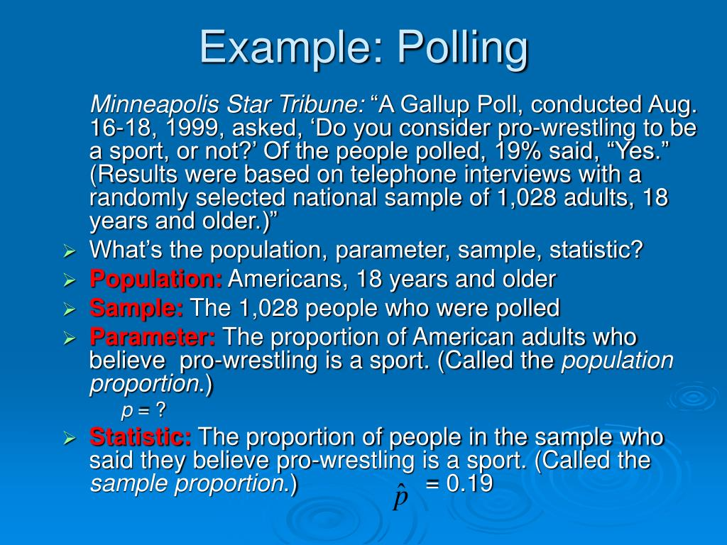 Example: Polling