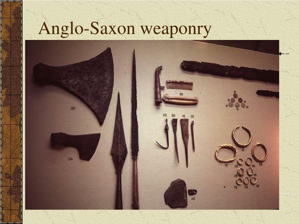 Anglo-Saxon weaponry