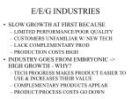 e e g industries