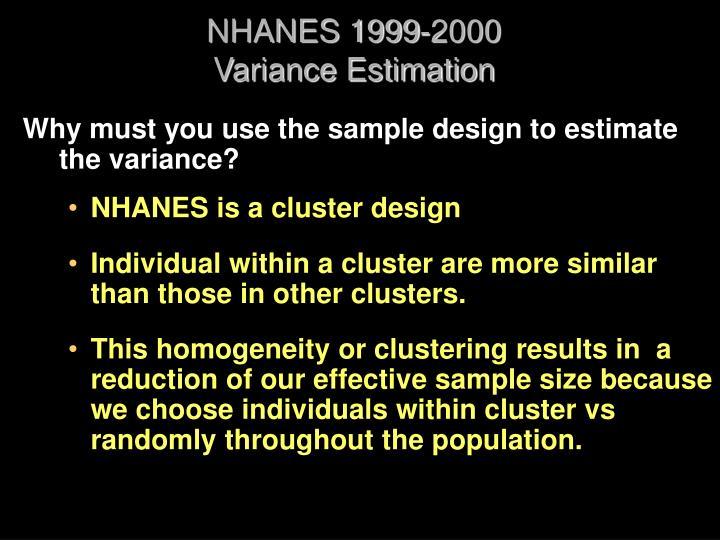 NHANES 1999-2000