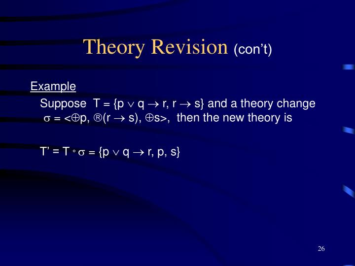 Theory Revision