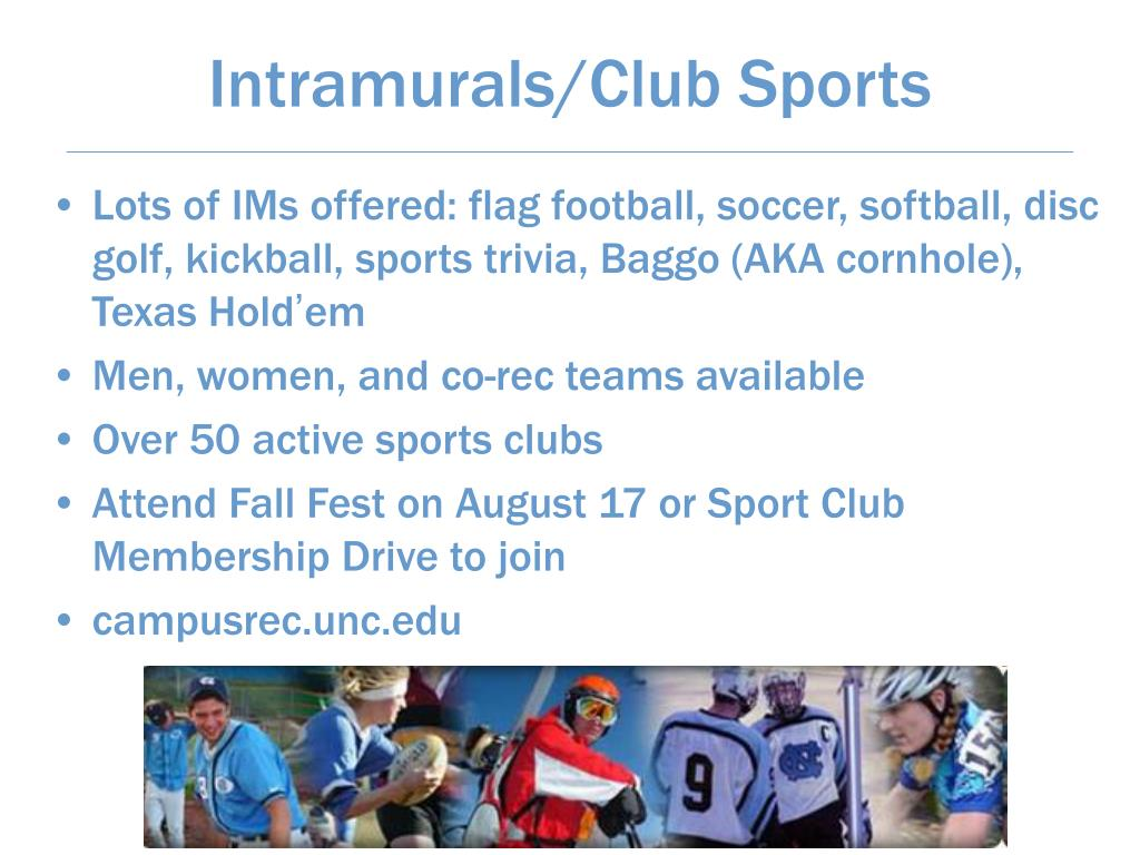Intramurals/Club Sports