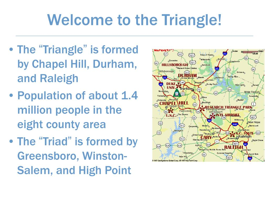 Welcome to the Triangle!