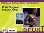 chris bergland triathlete author