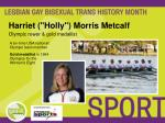 harriet holly morris metcalf olympic rower gold medallist