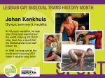 johan kenkhuis olympic swimmer medallist