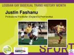 justin fashanu professional footballer england premiership