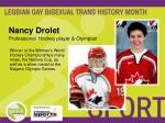 nancy drolet professional hockey player olympian