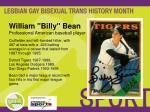 william billy bean professional american baseball player