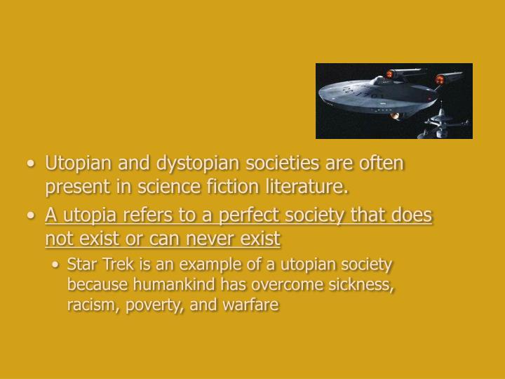 dystopian literature often presents the individual's