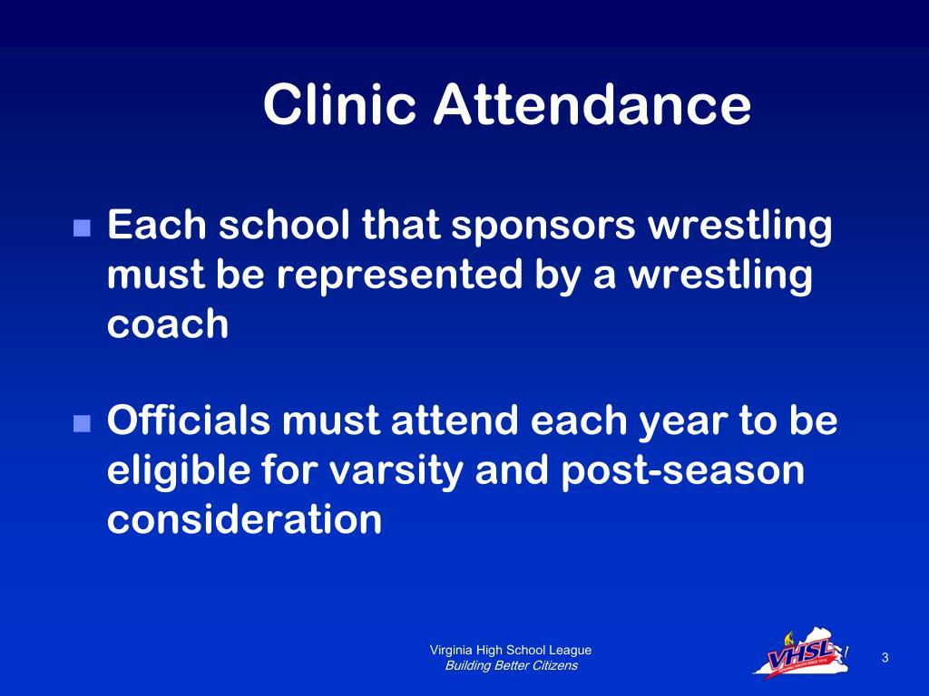 Clinic Attendance