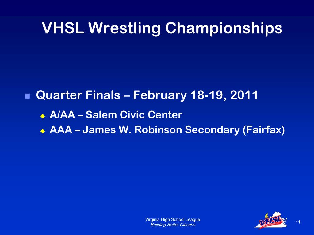 VHSL Wrestling Championships