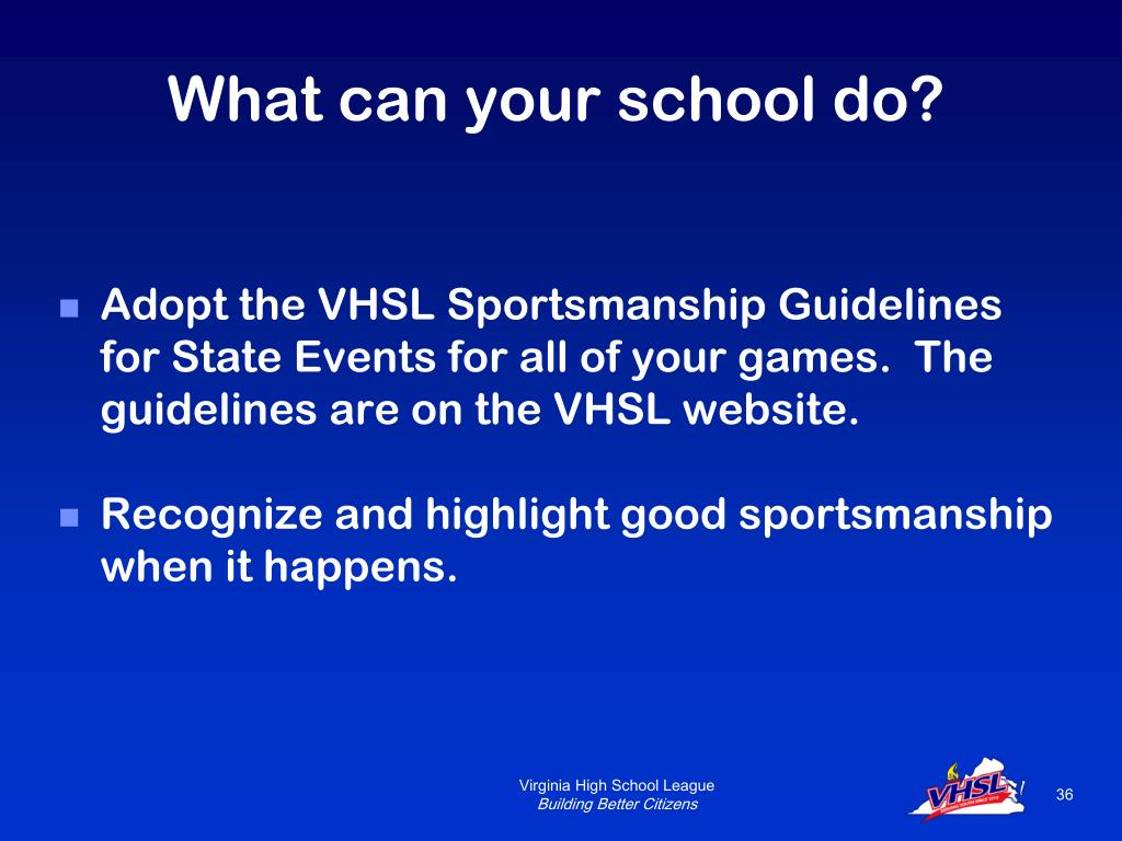 What can your school do?