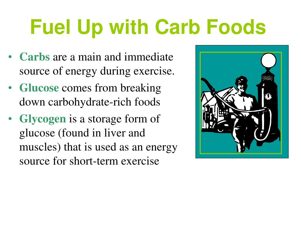 Fuel Up with Carb Foods