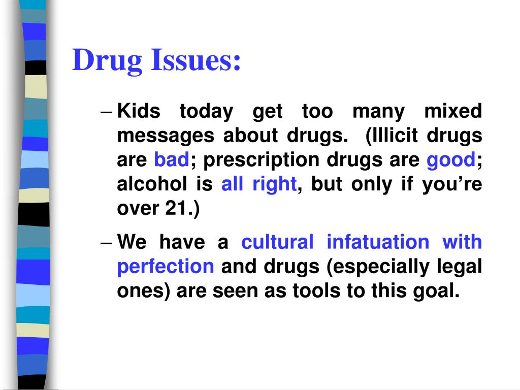 Drug Issues: