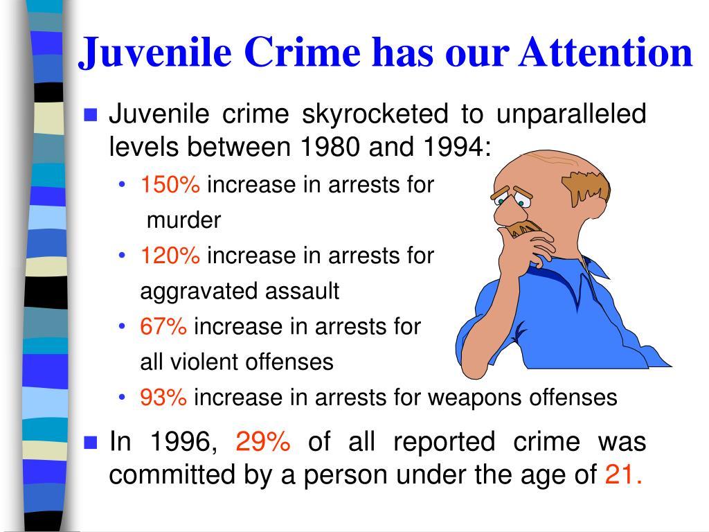 Juvenile Crime has our Attention
