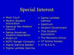 special interest6