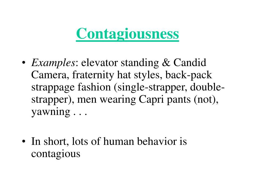 Contagiousness