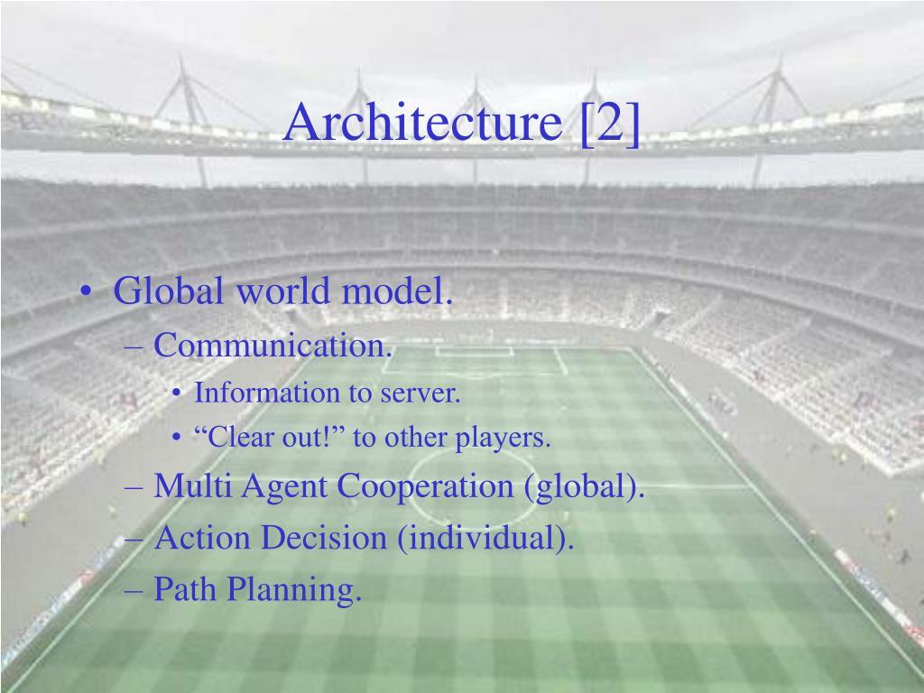 Architecture [2]