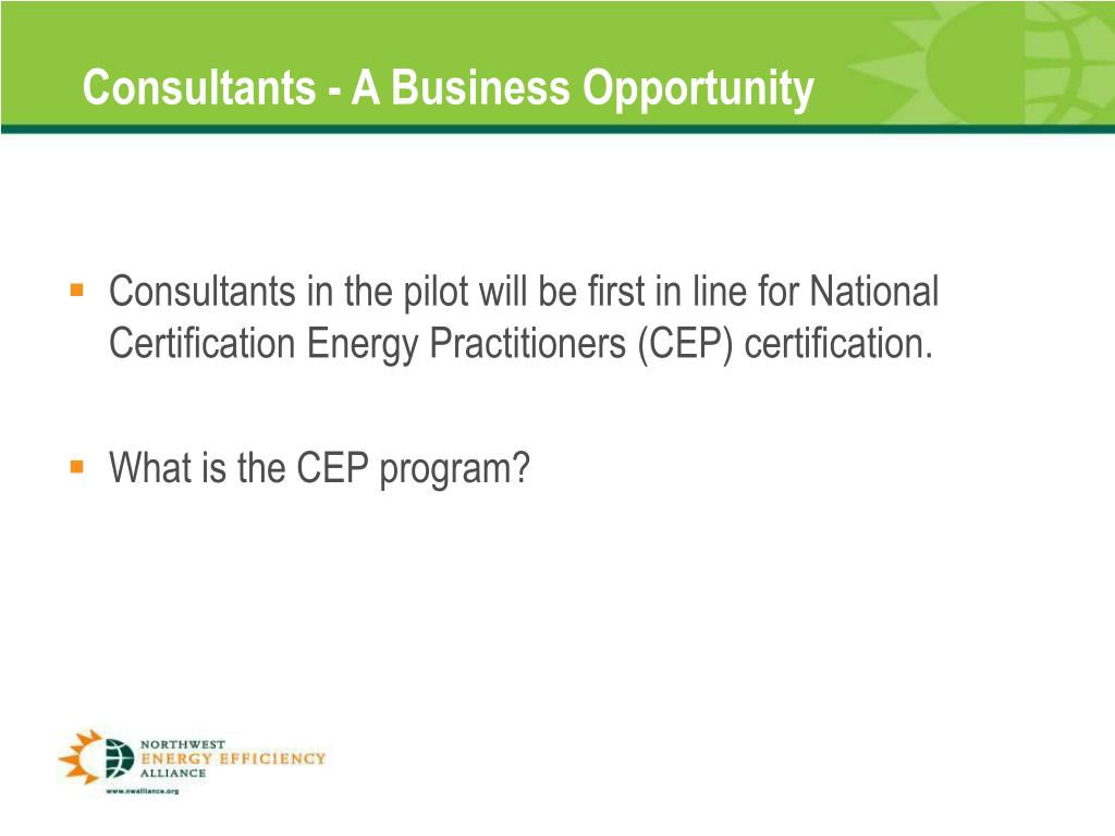 Consultants - A Business Opportunity