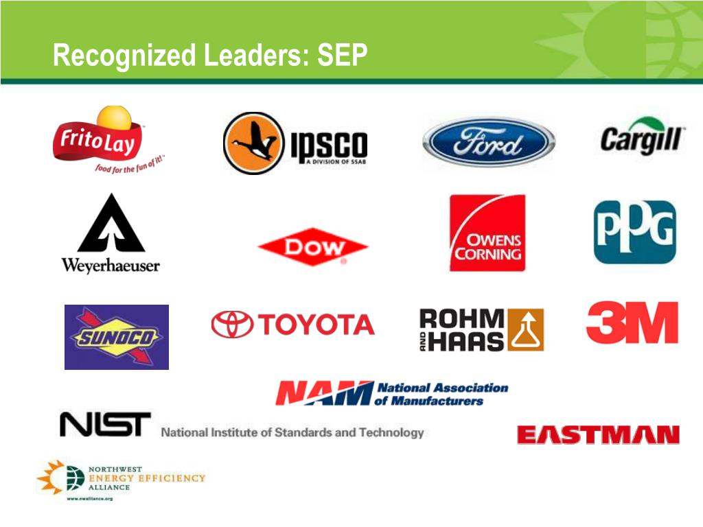 Recognized Leaders: SEP