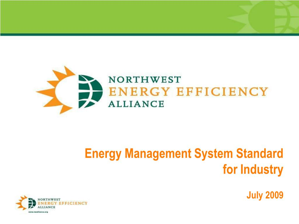 Energy Management System Standard