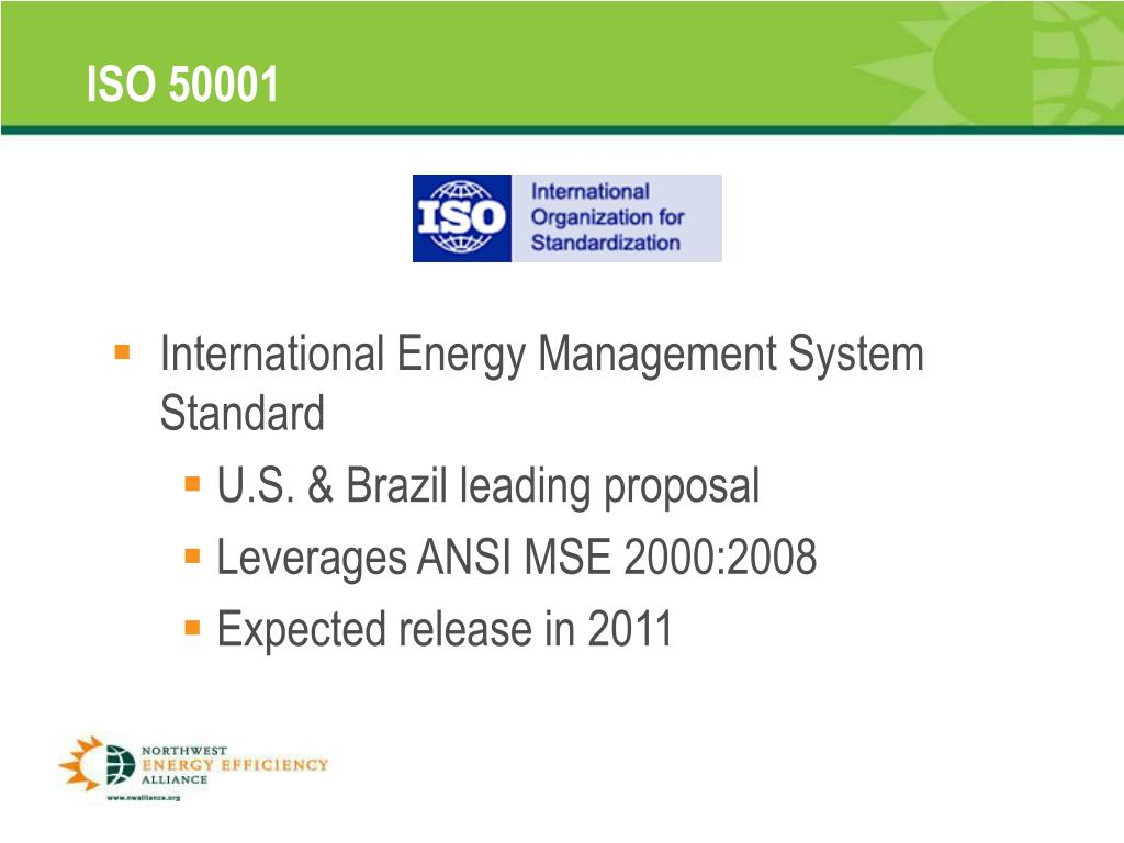 International Energy Management System Standard