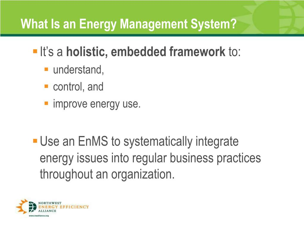 What Is an Energy Management System?