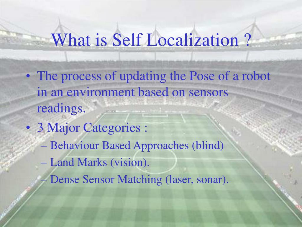 What is Self Localization ?