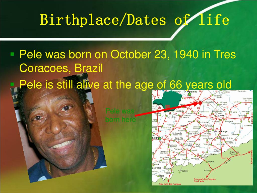 Birthplace/Dates of life