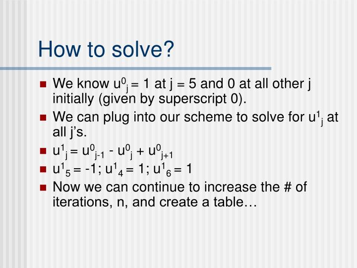 How to solve?
