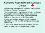 kentucky racing health services center20