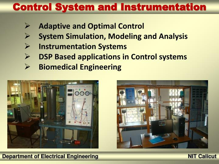 Adaptive and Optimal Control