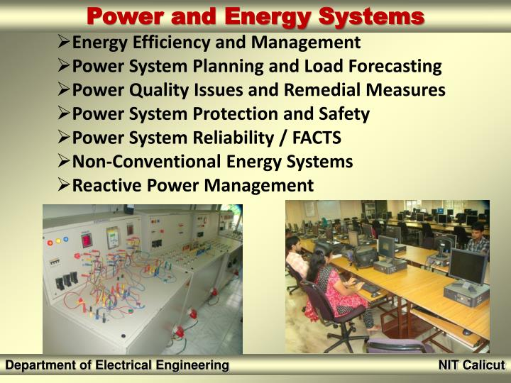 Energy Efficiency and Management