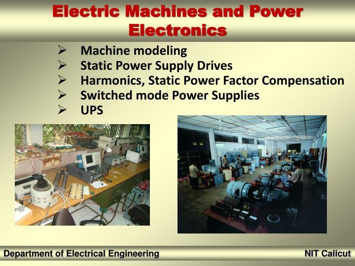 AC & DC motor drives