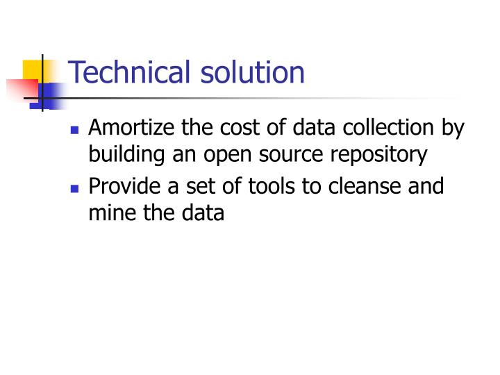 Technical solution